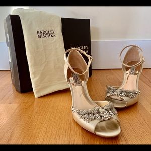 Badgley Mishchika Barbara Wedge Sandals